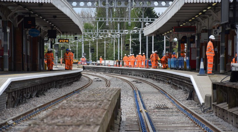 Track and station improvements at Shenfield completed as TfL Rail services return_269310