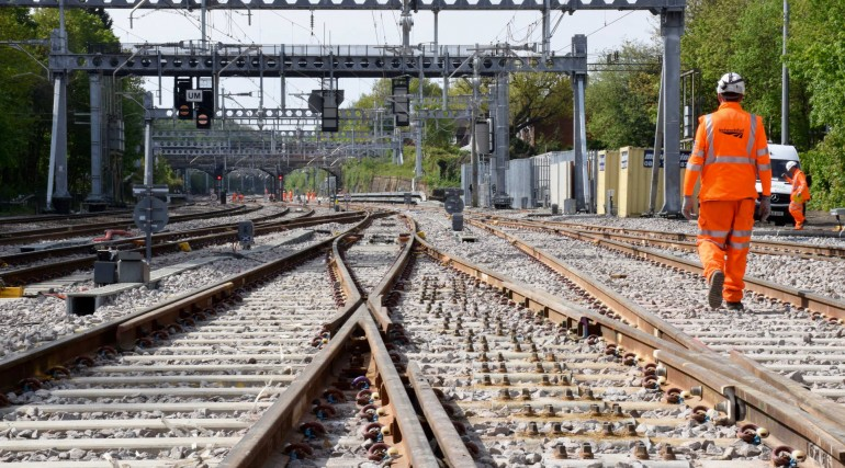 Track and station improvements at Shenfield completed as TfL Rail services return_269219