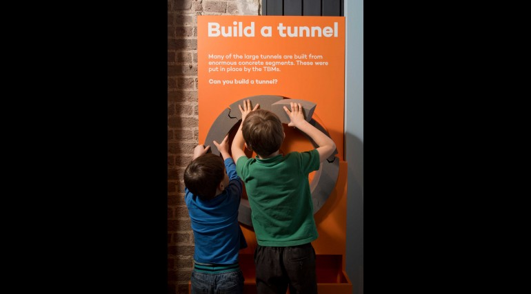 Tunnel - The Archaeology of Crossrail exhibition at Museum of London Docklands_262160