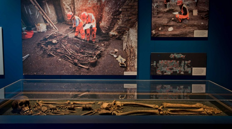 Tunnel - The Archaeology of Crossrail exhibition at Museum of London Docklands_262163