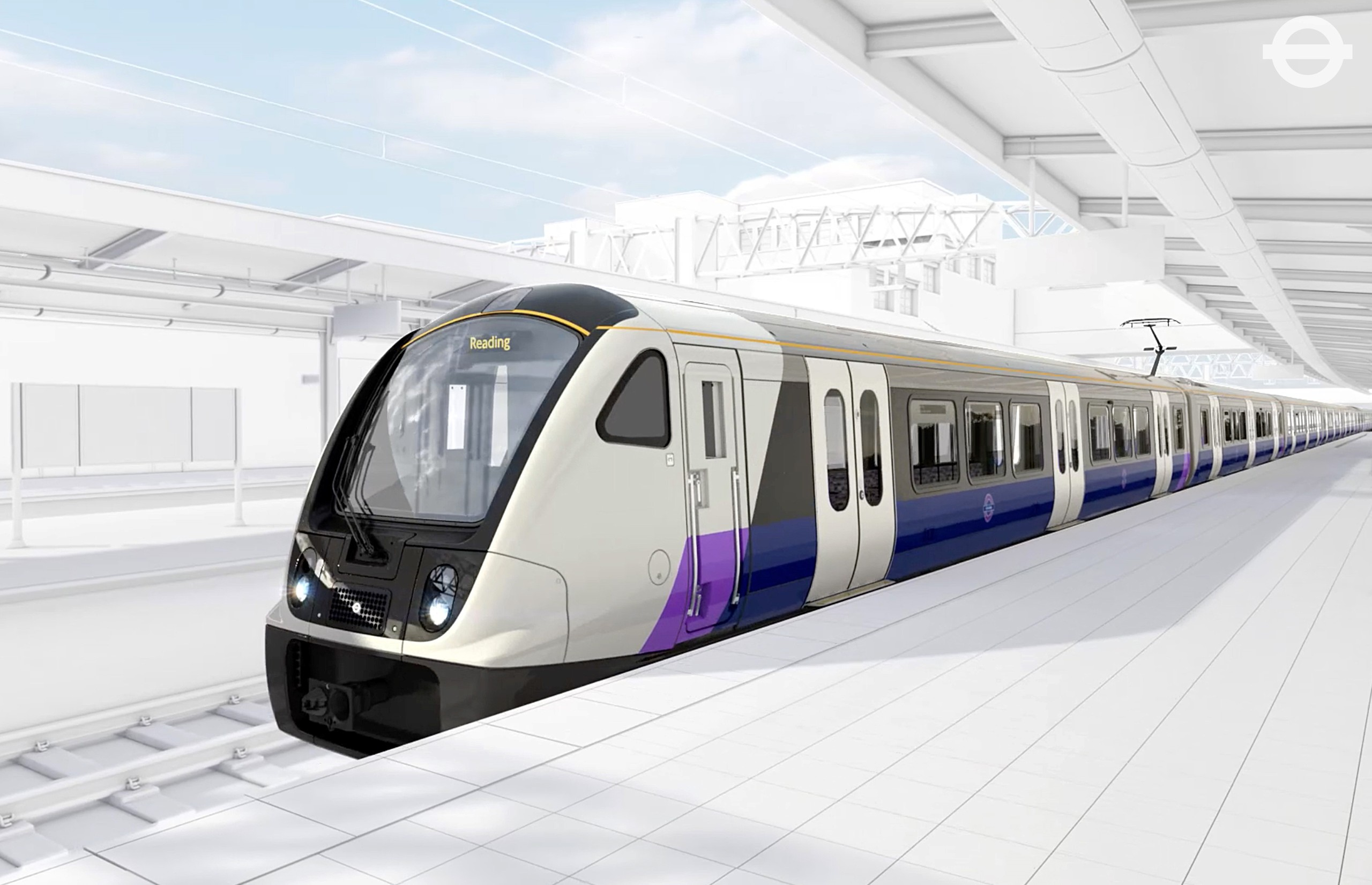TfL image - Crossrail train exterior_214475