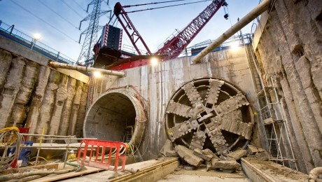 Crossrail completes tunnels in Docklands and southeast London