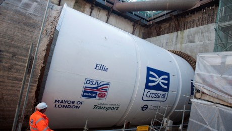 Crossrail�s eighth tunnel boring machine launches in east London