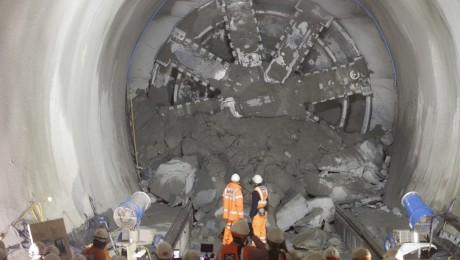 Tunnelling marathon three quarters complete following Whitechapel breakthrough
