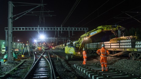 Crossrail surface works reach halfway point