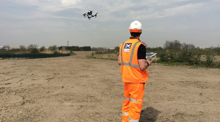Use of drone to undertake site surveys_195313