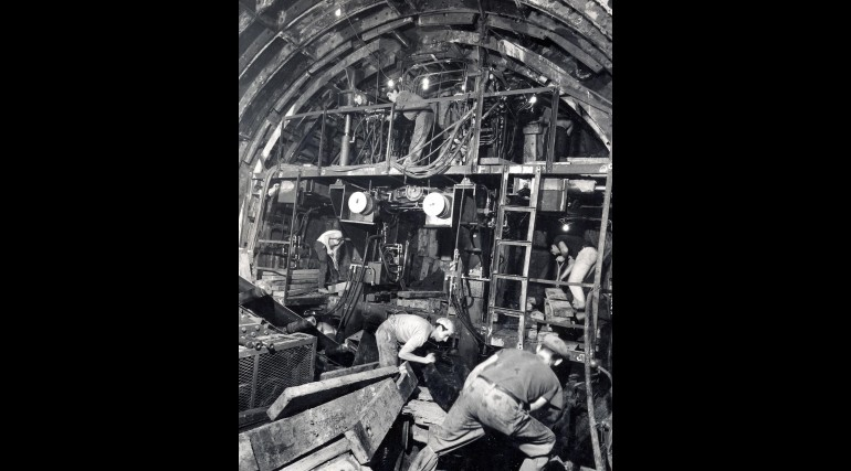 Victoria Line construction work 1964_137944