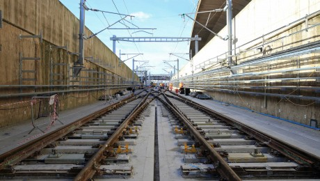 Network Rail completes major rail upgrades for the Elizabeth line