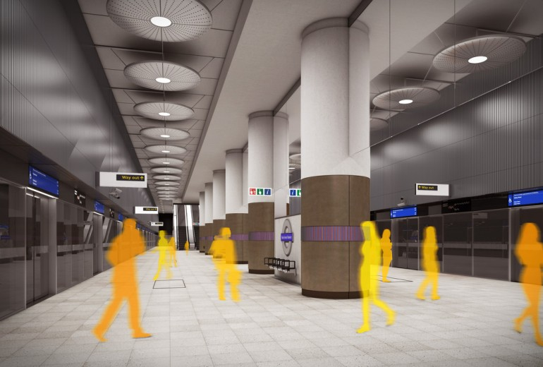 Balfour Beatty wins contract to fit out Crossrail Woolwich station