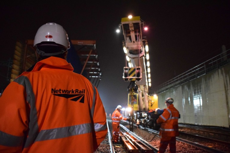 Good progress being made on Crossrail's surface works