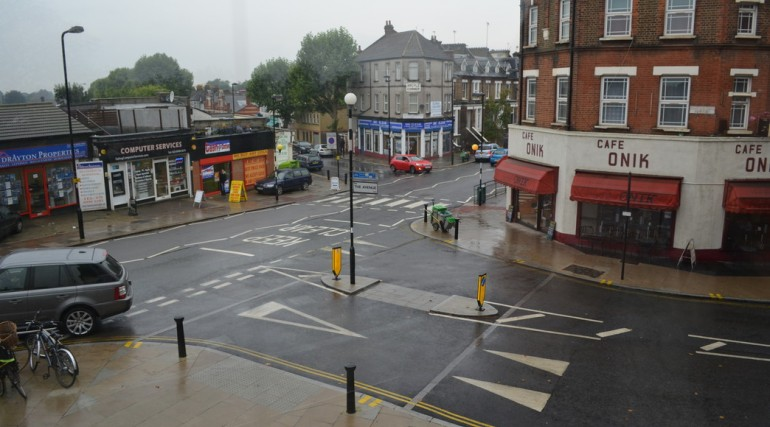 West Ealing Station - view of urban realm in 2014_139045
