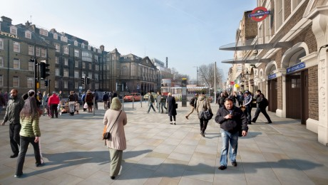 Crossrail exhibits design proposals for areas around stations