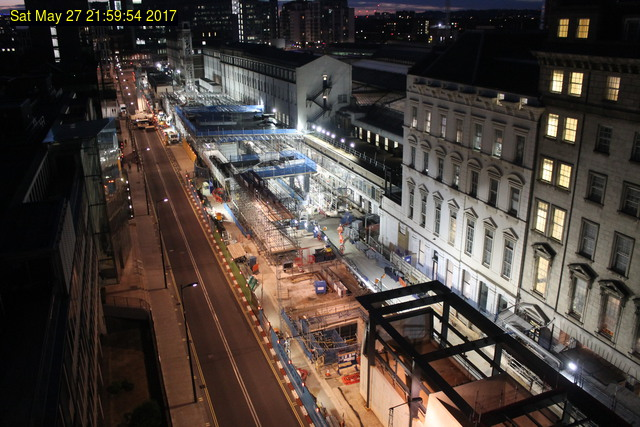 Constructing Paddington Crossrail station beneath Eastbourne Terrace
