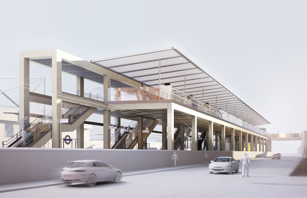 Custom house station crossrail for Custom home architects
