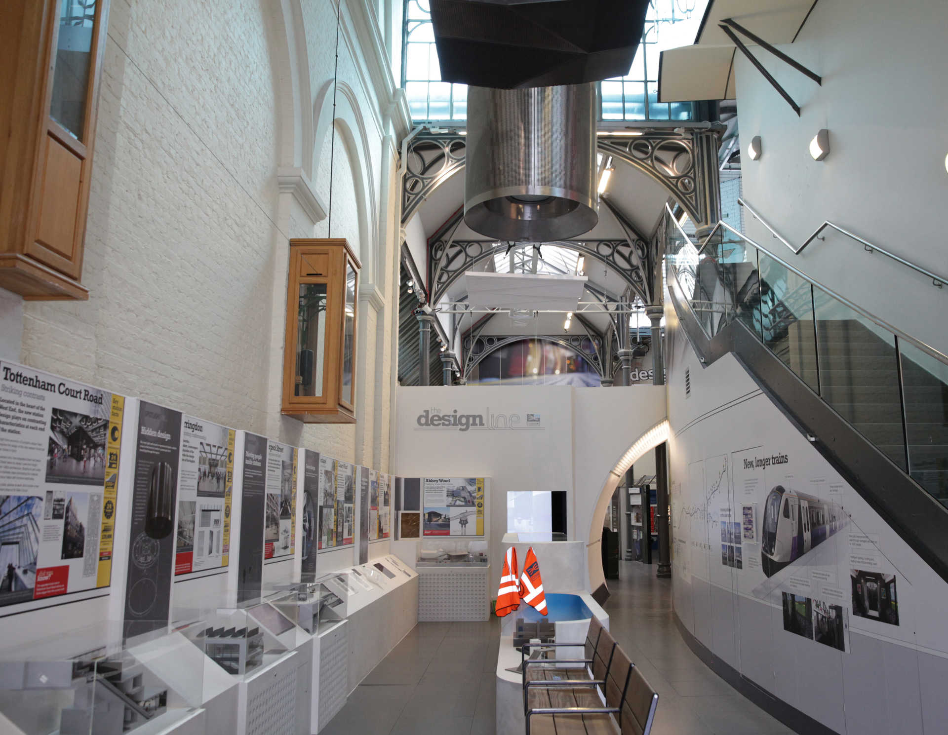 D Exhibition London : Design line exhibition opens as crossrail publishes new